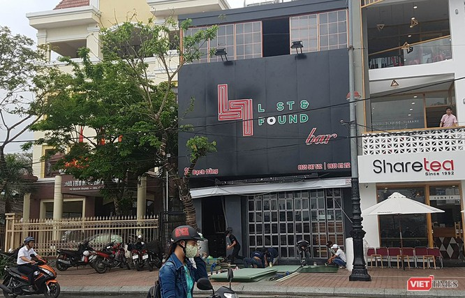 quán pub Lost & Found (số 28 đường Bạch Đằng, quận Hải Châu)