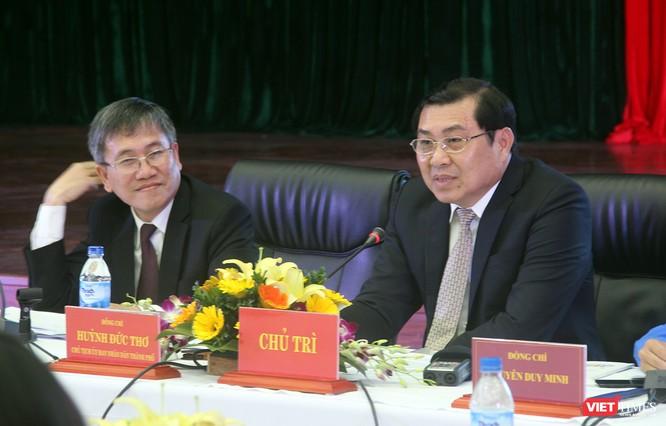 """Chủ tịch UBND TP Đà Nẵng chia sẻ quan điểm với thanh niên về chủ đề """"Xây dựng đô thị thông minh"""" và khuyến khích thế hệ trẻ sáng tạo"""