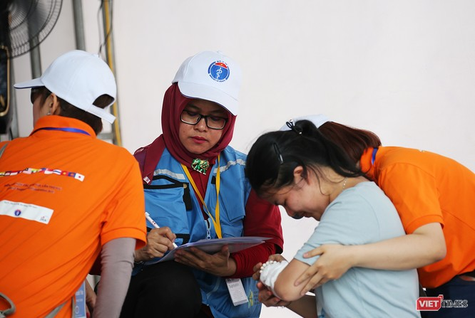 Các nước ASEAN diễn tập quốc tế ứng phó về y tế trong thảm họa ảnh 8