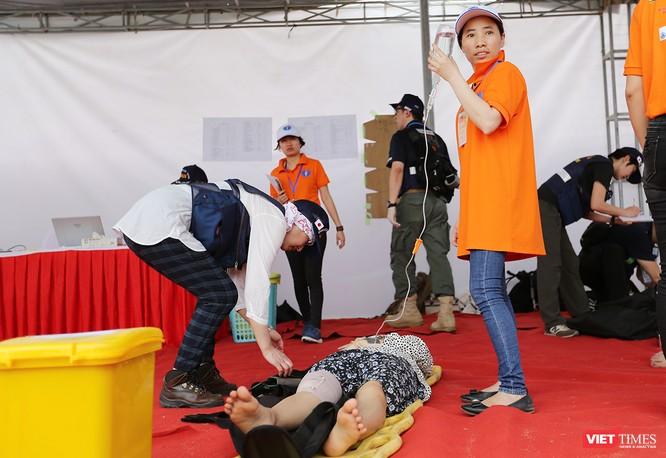 Các nước ASEAN diễn tập quốc tế ứng phó về y tế trong thảm họa ảnh 3