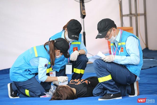 Các nước ASEAN diễn tập quốc tế ứng phó về y tế trong thảm họa ảnh 4