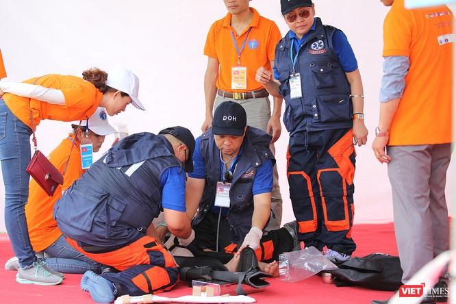 Các nước ASEAN diễn tập quốc tế ứng phó về y tế trong thảm họa ảnh 5