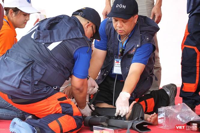 Các nước ASEAN diễn tập quốc tế ứng phó về y tế trong thảm họa ảnh 6