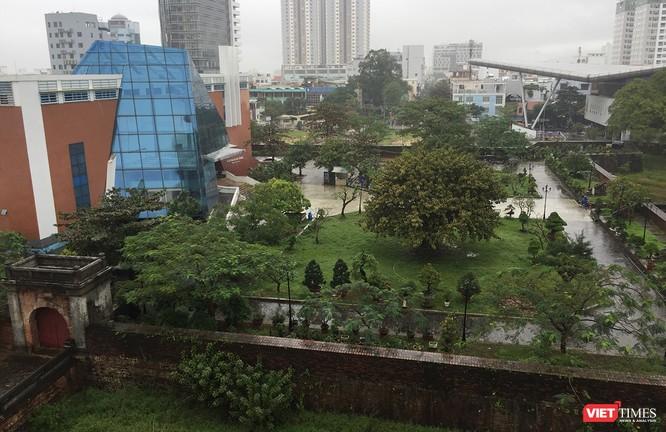Một góc khuôn viên Thành ĐIện Hải nhìn từ trên cao