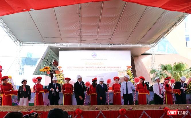 Bên cạnh Lễ đón nhận Bằng xếp hạng Di tích quốc gia đặc biệt đối với Thành Điện Hải. Ban tổ chức cũng đã khởi công Dự án tu bổ, phục hồi, tôn tạo di tích này