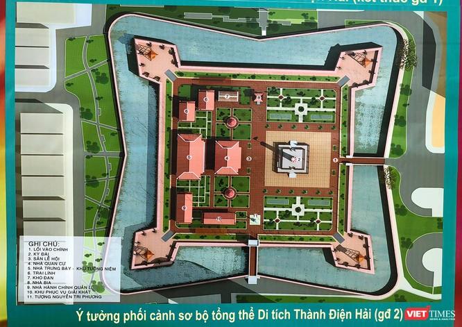 Thành Điện Hải sẽ được tôn tạo tu bổ trong giai đoạn 2