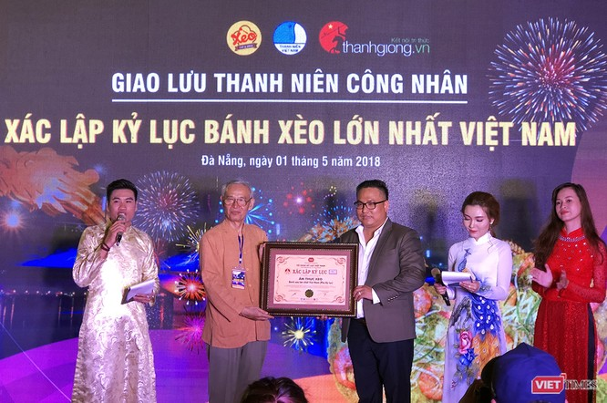 Đà Nẵng xác lập kỷ lục Bánh Xèo lớn nhất Việt Nam ảnh 3