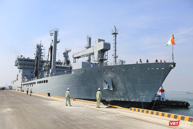 Đội tàu Hải quân Ấn Độ và gần 1.000 binh sĩ cập cảng Đà Nẵng ảnh 5