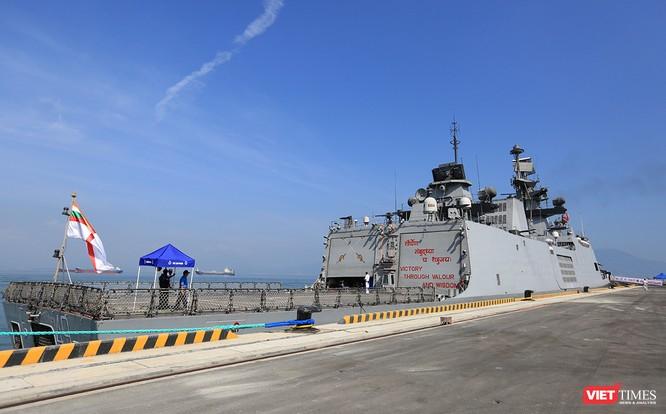 Đội tàu Hải quân Ấn Độ và gần 1.000 binh sĩ cập cảng Đà Nẵng ảnh 6