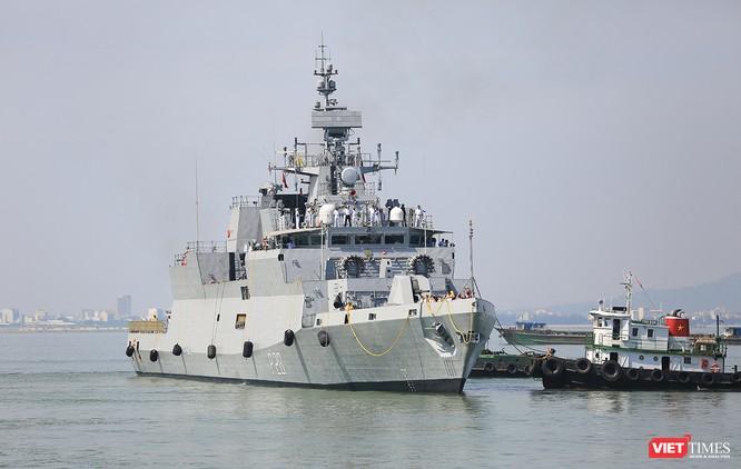 Đội tàu Hải quân Ấn Độ và gần 1.000 binh sĩ cập cảng Đà Nẵng ảnh 7