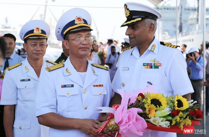 Đội tàu Hải quân Ấn Độ và gần 1.000 binh sĩ cập cảng Đà Nẵng ảnh 3