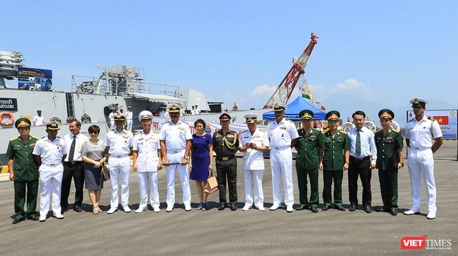 Đội tàu Hải quân Ấn Độ và gần 1.000 binh sĩ cập cảng Đà Nẵng ảnh 4