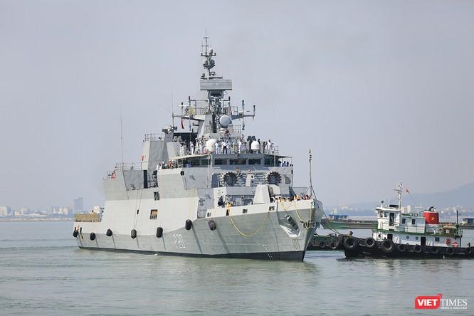 """Sức mạnh của tàu hộ vệ tên lửa INS Kamorta và """"siêu hậu cần"""" INS Shakti-Hải quân Ấn Độ ở Đà Nẵng ảnh 4"""