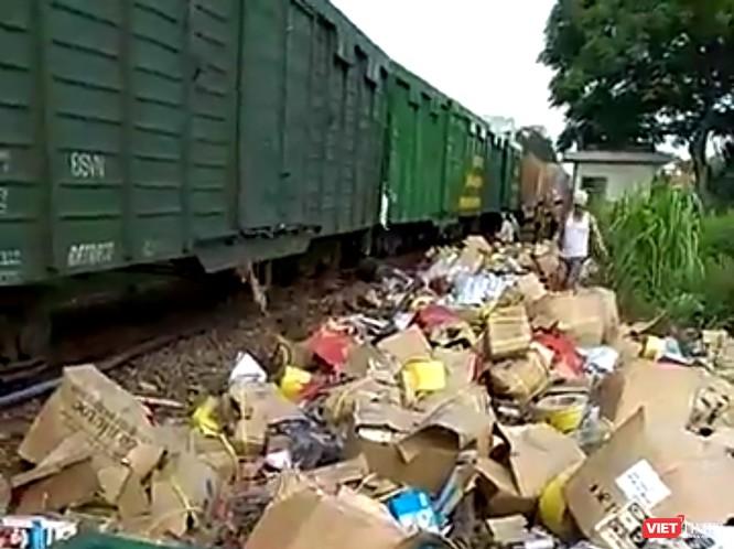 Lại thêm tai nạn đường sắt, hai tàu hàng tông nhau ở Quảng Nam ảnh 1