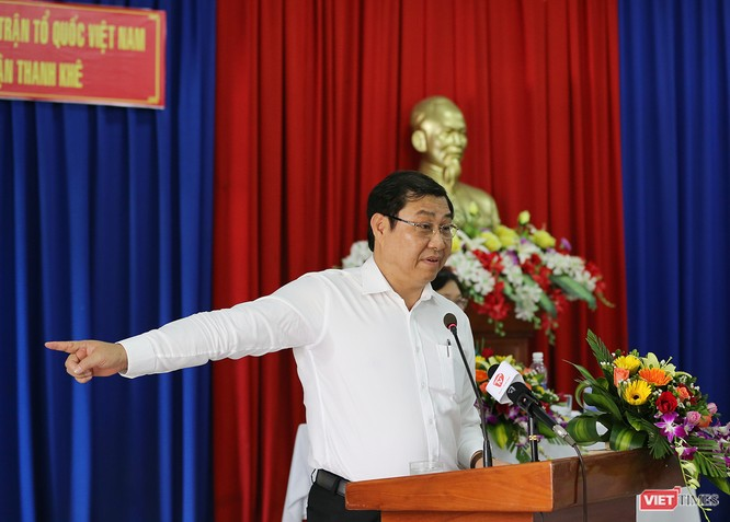 """Chủ tịch Đà Nẵng nói """"cũng bị đe dọa"""" khi đấu tranh ảnh 3"""