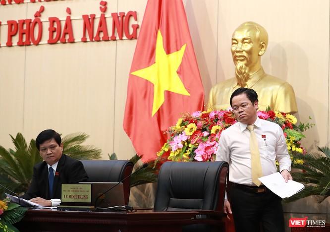 Những khoảnh khắc phiên bầu nhân sự chủ chốt của thành phố Đà Nẵng ảnh 17
