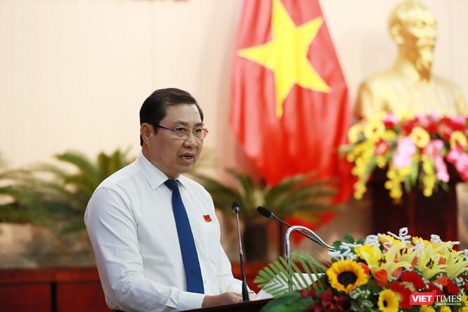 Những khoảnh khắc phiên bầu nhân sự chủ chốt của thành phố Đà Nẵng ảnh 19
