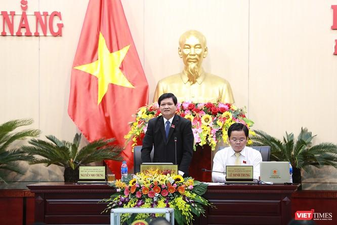 Những khoảnh khắc phiên bầu nhân sự chủ chốt của thành phố Đà Nẵng ảnh 30