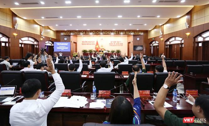 Những khoảnh khắc phiên bầu nhân sự chủ chốt của thành phố Đà Nẵng ảnh 29