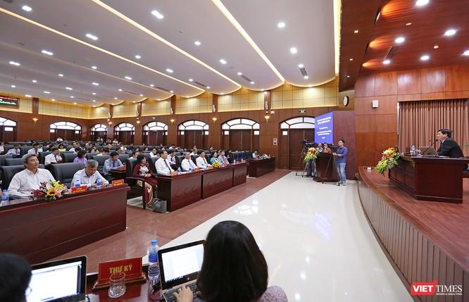 Những khoảnh khắc phiên bầu nhân sự chủ chốt của thành phố Đà Nẵng ảnh 3