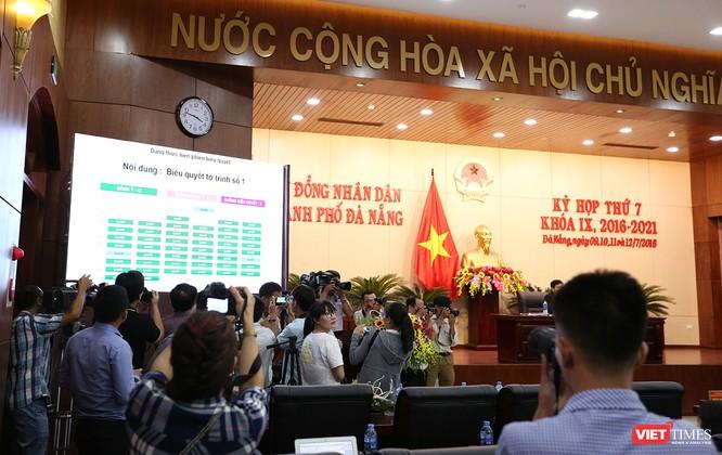 Những khoảnh khắc phiên bầu nhân sự chủ chốt của thành phố Đà Nẵng ảnh 4