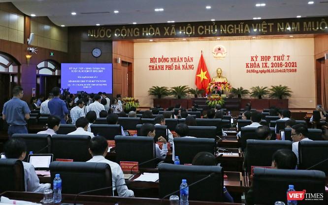 Những khoảnh khắc phiên bầu nhân sự chủ chốt của thành phố Đà Nẵng ảnh 6