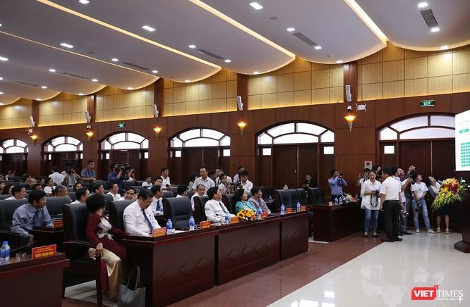 Những khoảnh khắc phiên bầu nhân sự chủ chốt của thành phố Đà Nẵng ảnh 7