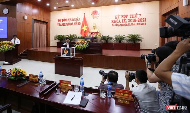 Những khoảnh khắc phiên bầu nhân sự chủ chốt của thành phố Đà Nẵng ảnh 9