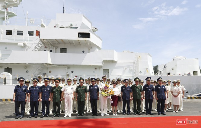 Tàu bảo vệ bờ biển Nhật Bản thăm Đà Nẵng ảnh 9