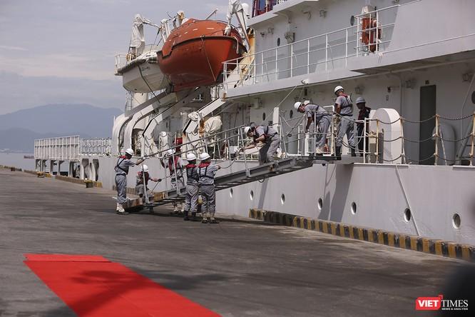 Tàu bảo vệ bờ biển Nhật Bản thăm Đà Nẵng ảnh 17