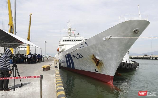 Tàu bảo vệ bờ biển Nhật Bản thăm Đà Nẵng ảnh 4