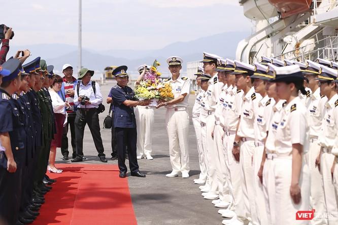 Tàu bảo vệ bờ biển Nhật Bản thăm Đà Nẵng ảnh 1