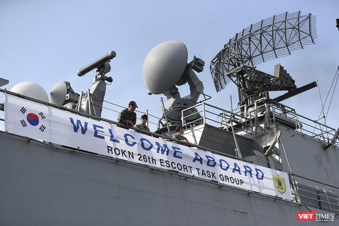 Khu trục hạm Hải quân Hàn Quốc thăm chính thức Đà Nẵng được trang bị vũ khí khủng gì? ảnh 16