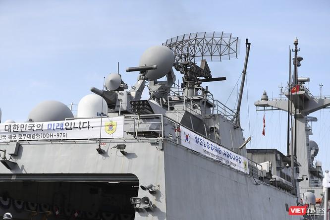 Khu trục hạm Hải quân Hàn Quốc thăm chính thức Đà Nẵng được trang bị vũ khí khủng gì? ảnh 18