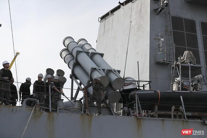 Khu trục hạm Hải quân Hàn Quốc thăm chính thức Đà Nẵng được trang bị vũ khí khủng gì? ảnh 8