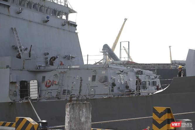 Khu trục hạm Hải quân Hàn Quốc thăm chính thức Đà Nẵng được trang bị vũ khí khủng gì? ảnh 10