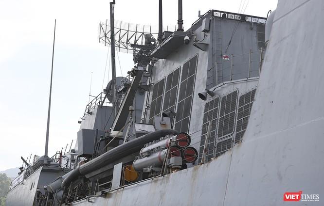 Khu trục hạm Hải quân Hàn Quốc thăm chính thức Đà Nẵng được trang bị vũ khí khủng gì? ảnh 12