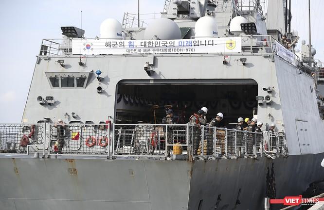 Khu trục hạm Hải quân Hàn Quốc thăm chính thức Đà Nẵng được trang bị vũ khí khủng gì? ảnh 20
