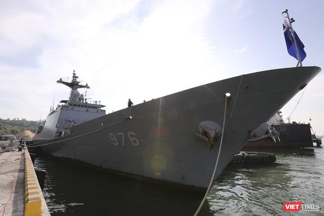 Khu trục hạm Hải quân Hàn Quốc thăm chính thức Đà Nẵng được trang bị vũ khí khủng gì? ảnh 1