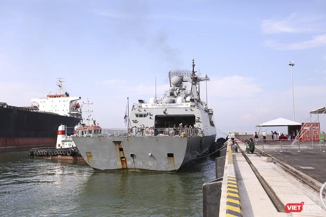 Khu trục hạm Hải quân Hàn Quốc thăm chính thức Đà Nẵng được trang bị vũ khí khủng gì? ảnh 2