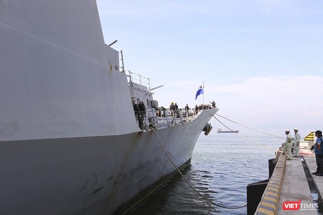 Khu trục hạm Hải quân Hàn Quốc thăm chính thức Đà Nẵng được trang bị vũ khí khủng gì? ảnh 4