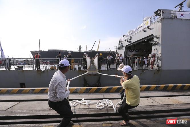 Khu trục hạm Hải quân Hàn Quốc thăm chính thức Đà Nẵng được trang bị vũ khí khủng gì? ảnh 21