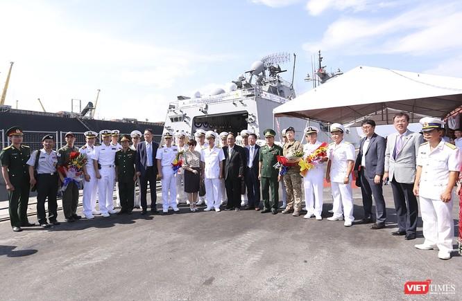 Khu trục hạm Hải quân Hàn Quốc thăm chính thức Đà Nẵng được trang bị vũ khí khủng gì? ảnh 26