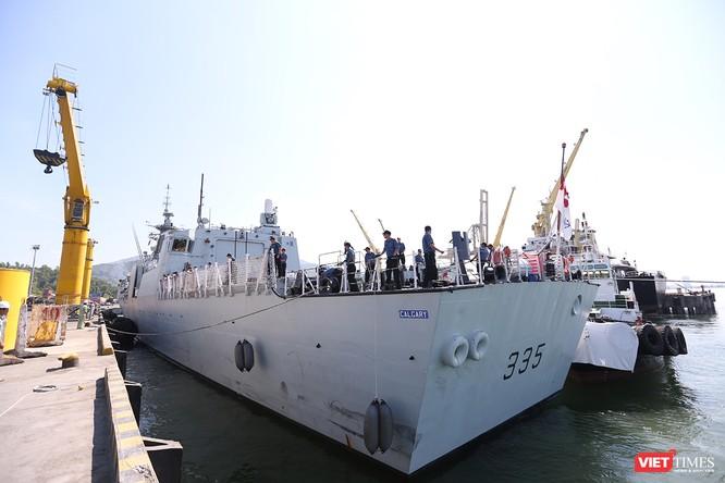 Khám phá tàu Hải quân Hoàng gia Canada Calgary tại Đà Nẵng ảnh 6