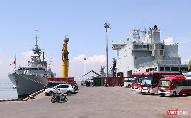 Khám phá tàu Hải quân Hoàng gia Canada Calgary tại Đà Nẵng ảnh 8