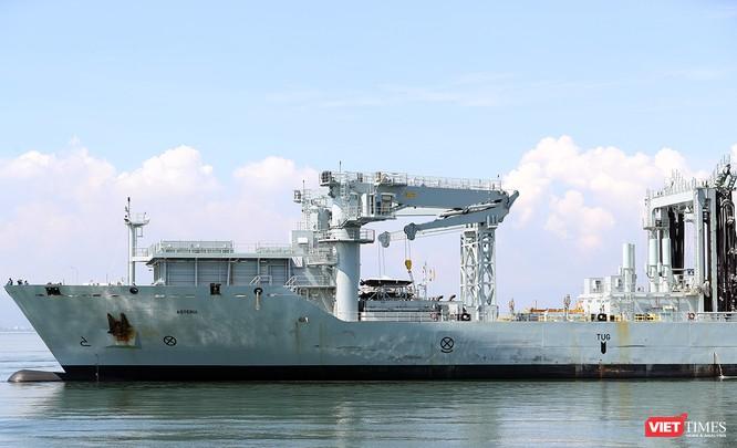 Đội tàu Hải quân Hoàng gia Canada Calgary rời Đà Nẵng ảnh 23