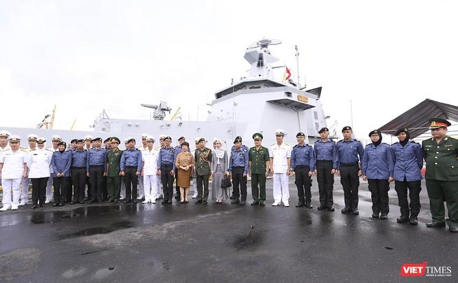Tham gia tập trận, tàu tuần tra Hải quân Brunei đến thăm Đà Nẵng ảnh 14