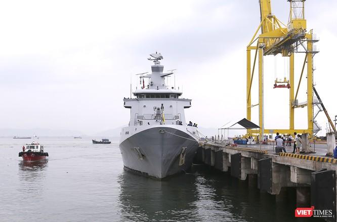 Tham gia tập trận, tàu tuần tra Hải quân Brunei đến thăm Đà Nẵng ảnh 2