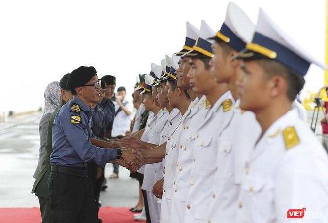 Tham gia tập trận, tàu tuần tra Hải quân Brunei đến thăm Đà Nẵng ảnh 13
