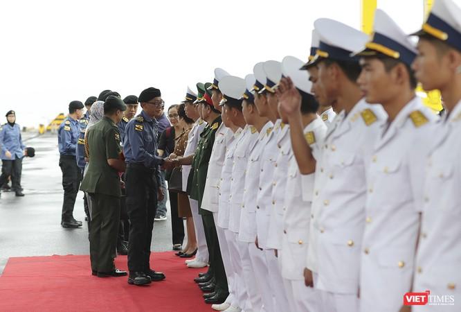 Tham gia tập trận, tàu tuần tra Hải quân Brunei đến thăm Đà Nẵng ảnh 1
